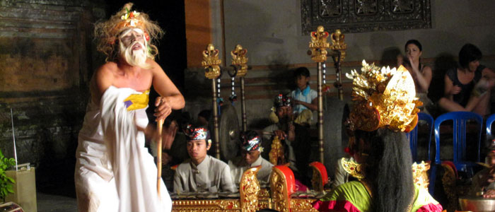 Legong Dance and Ramayana