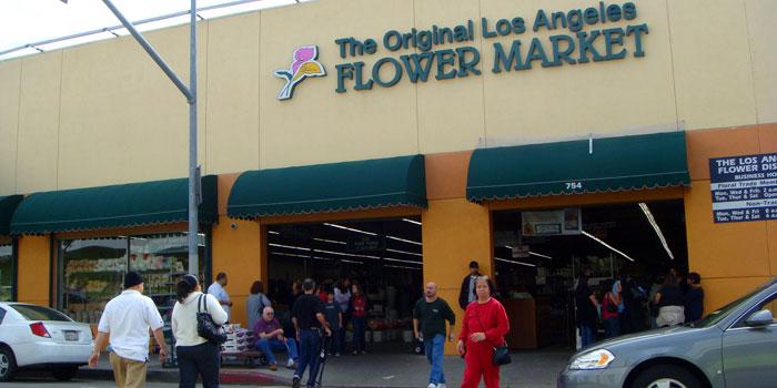 Flower Market Downtown LA