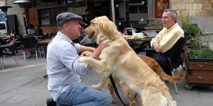 Making friends in Cuenca, Ecuador